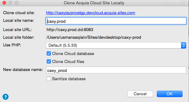 Cloning from cloud