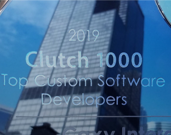 Caxy named top software developer in Clutch Global 1000